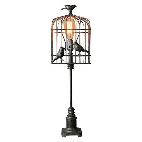 Bird Table Lamp - AHS Lighting L2159-UP1 Aviary Table Lamp