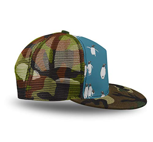 Boys Girls Baseball Cap, Penguin Atlantic, Vintage Adjustable Dad Hat Outdoor Sport Hunt Cap Summer Hat Gifts ()