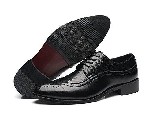 Scarpe Xie Da Uomo 37 Black Lavoro Casual Large Classiche Trend rX4w4qt