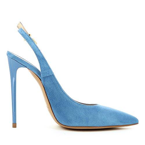 Lisa Daim Evita Bleu Shoes Sling Escarpins HnaaO1wv