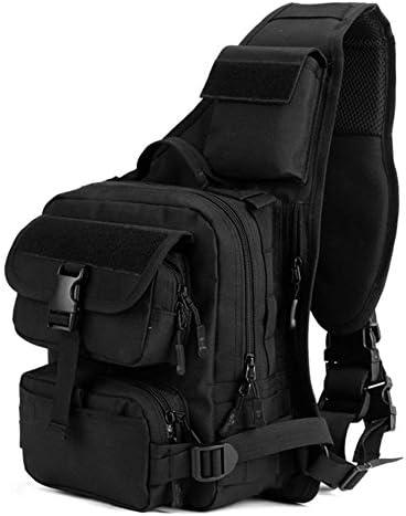 Greenpromise Outdoor Taktischer Sling-Brustrucksack, Militär-Stil, Schultertasche, Rucksack für Radfahren, Wandern, Schießen