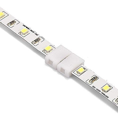 Gimax 1000pcs 2 Pin 4 Pin 5 Pin Connectors 8mm 10mm 12mm No Soldering For 3528 2835 5050 RGB RGBW RGBWW LED Strip Lights - (Color: 4 pin 10mm, Connector Type: Panel Connector) by GIMAX (Image #6)