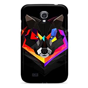 Forever Collectibles Techno Wolf Hard Snap-on Galaxy S4 Case