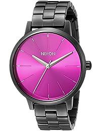 Nixon Women's A0992096 Kensington Analog Display Japanese Quartz Grey Watch