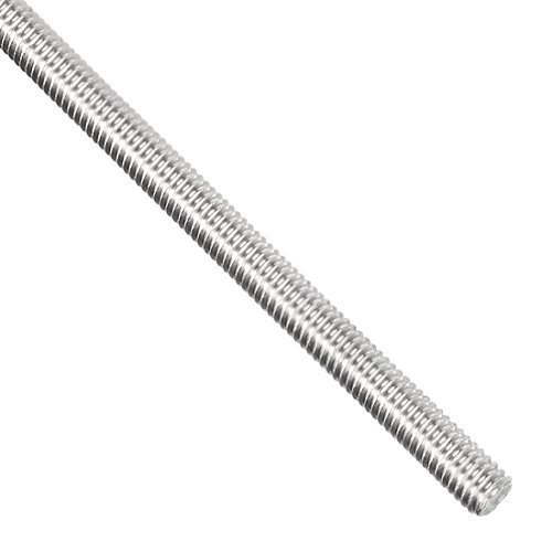 304 Stainless Steel Thread Pitch 0.7 mm Left Threads Length 250 mm Fully Threaded M4 Rod