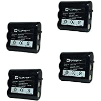 GE TL-26400 Cordless Phone Battery Combo-Pack Includes: 4 x SDCP-H306 Batteries
