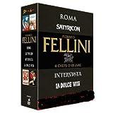 Federico Fellini - Coffret 4 Films : Roma, Satyricon, Intervista, La Dolce Vita