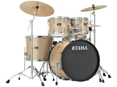 Tama Imperialstar 5-Piece Complete Drum Kit with Meinl HCS Cymbals - FREE PROMO CYMBAL PACK - Champagne Mist -