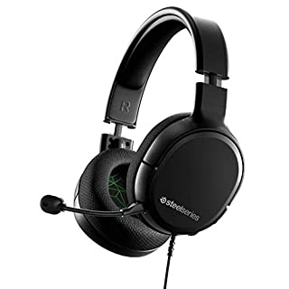 SteelSeries Arctis 1 Wired Gaming Headset – Detachable ClearCast Microphone – Lightweight Steel-Reinforced Headband – For Xbox, PC, PS4, Nintendo Switch and Lite, Mobile