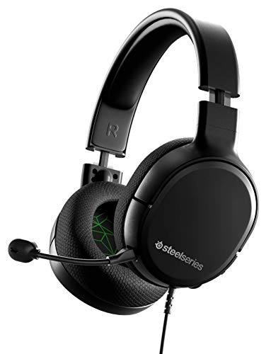 SteelSeries Arctis 1 - All-Platform Compatibility - For Xbox, PS4, PS5, PC, Nintendo Switch & Lite, Mobile - Detachable Clearcast Microphone (Xbox One)
