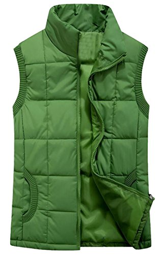 Quilted Down Vest Jacket - 9