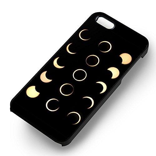 Solar Eclipse Phase pour Coque Iphone 6 et Coque Iphone 6s Case (Noir Boîtier en plastique dur) Q0U2RY