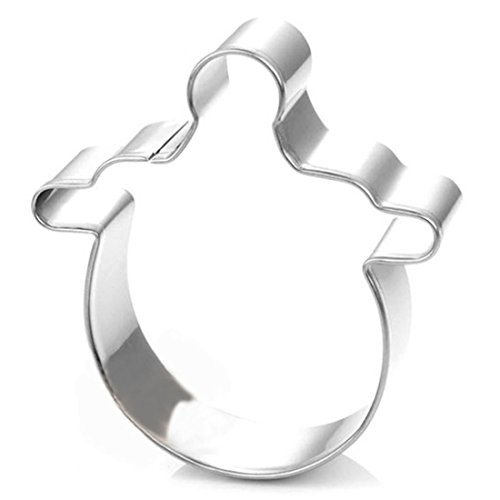 WJSYSHOP Baby Pacifier Cookie Cutter Stainless Steel