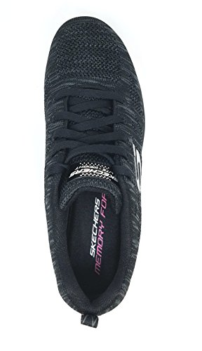 Skechers Graceful 2.0 Magnificent Journey Walking Shoes (8.5, Black/White) Black/White