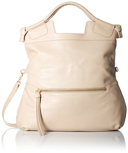 Foley + Corinna Mid City Convertible Shoulder Bag, Alabaster, One Size (Foley Corinna Handbags Mid City Tote)