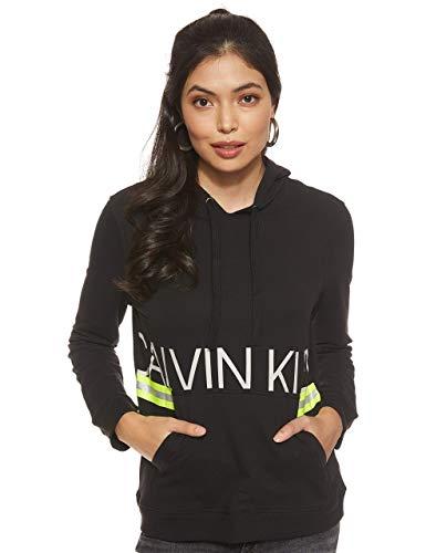 Calvin Klein Damen L/S Hoodie Thermounterwäsche - Unterteil