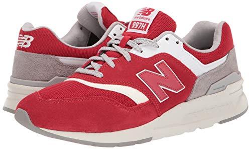 New Balance Men's 997H V1 Sneaker, Team RED/RAINCLOUD, 10.5 D US