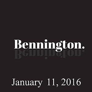 Bennington, Gary Gulman, January 11, 2016 Radio/TV Program