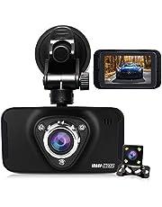 HQBKING Dash Cam 1080P FHD Dashboard Camera Car Driving Recorder