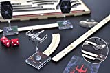 Star Wars X-Wing Movement Templates with Tray