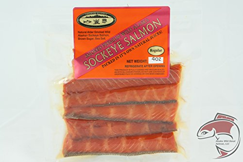 Price comparison product image Wild Alaska Smoked Salmon Strips (Regular)