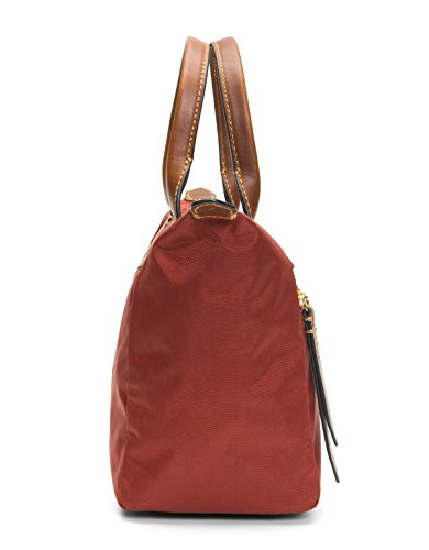 Handbag Satchel FRYE Ivy Red Clay Small Nylon 44tqI