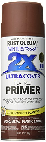 (Rust-Oleum 249086 Painter's Touch Multi Purpose Spray Paint, 12-Ounce, Red Primer)