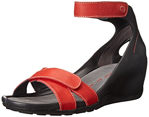 Sandali Wolky KA Red Smooth Leather