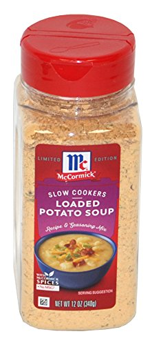 McCormick Slow Cookers Loaded Potato Soup Seasoning Mix 12 Ounces (Best Spices For Potatoes)