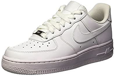Nike Wmns Air Force 1 07 Low All White Women Lifestyle Casual Sneakers New - 6