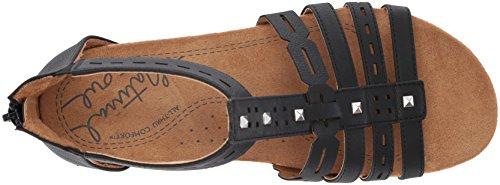 Sandalo Antigua Sandalo Donna Nero Anima Naturale