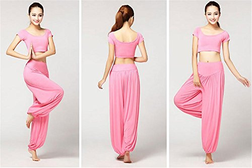 de costume pour pink Vêtements yoga danse de femme d'entraînement wzvYgqF
