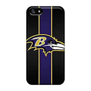 SherriFakhry Iphone 5/5s Bumper Hard Phone Cover Customized HD Baltimore Ravens Series [QFV2392Laud]