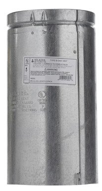 Selkirk Adjustable Round Gas Vent Pipe 6
