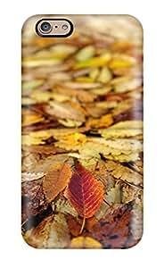 New Gallery Leaves Autumn Fallen Tpu Case Cover, Anti-scratch DreamDate Phone Case For Iphone 6 by ruishername
