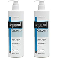 Aquanil Cleanser Gentle Soapless Lipid-Free, 16 oz (Pack of 2)