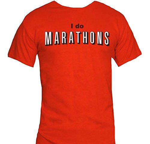 I do Marathons T-Shirt-Funny Netflix Shirt