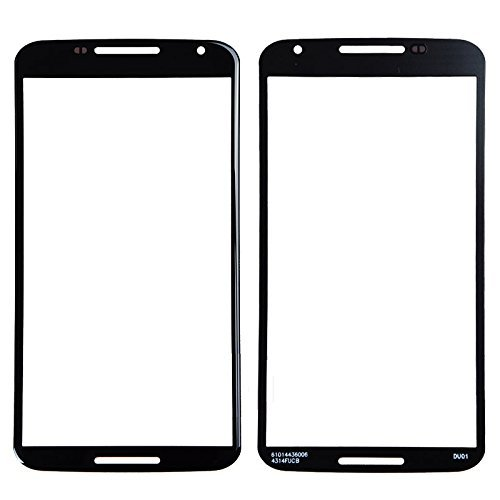 ePartSolution_Motorola Google Nexus 6 XT1100 XT1103 Touch Screen Lens Front Glass Outer Lens Cover Black Replacement Part USA Seller