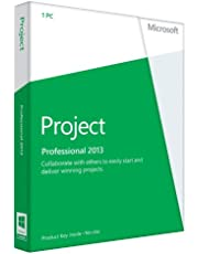 Microsoft Project Professional 2013 English (1PC/1User) (PC Key Card)