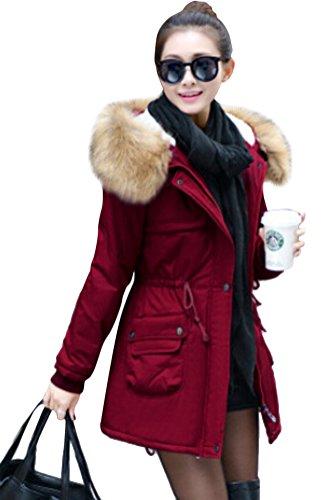 Veste Ghope Automne Jacket Hiver Femme Parka Fille Court Manteau wZw4P