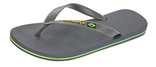 Ipanema Flag, Men's Flip Flop Grey
