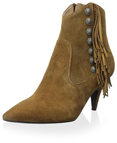 Belle by Sigerson Morrison Women's Navina Boot, Medium Natural Suede, 10 M US