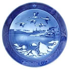 ROYAL COPENHAGEN 2006 Porcelin Christmas Plate - Kronborg Castle by Royal Copenhagen ()