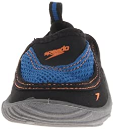 Speedo Surfwalker Pro Water Shoe (Toddler),Black/Frost Grey,Large (8/9 M US Toddler)