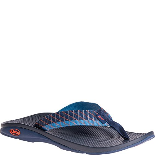Chaco Mens Flip Ecotread Flip-flop Sandal Glida Blå