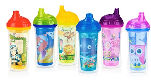 Nuby No Spill Insulated Clik Colors