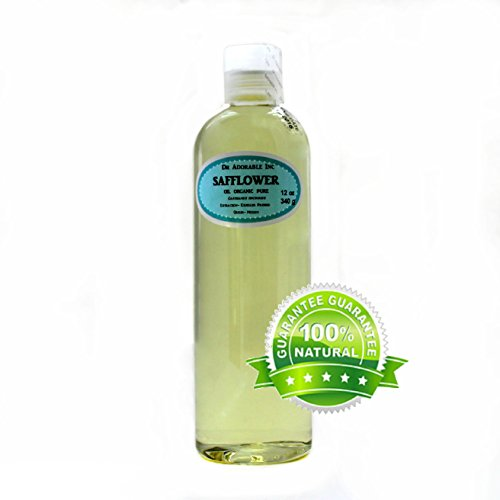 Safflower OIL High Oleic Organic 100% Pure 12 Oz