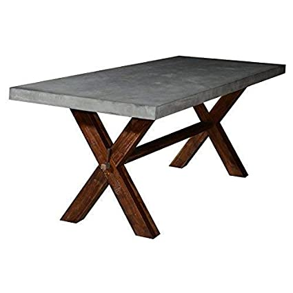 Amazon Com Rustic Home Interiors Belgian Trestle Dining Table Tables
