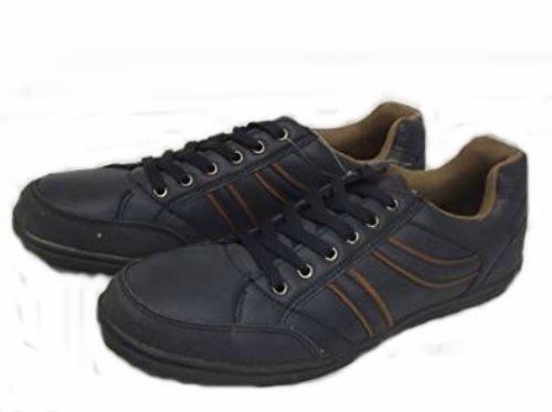 Herren Sneaker Dunkel blau braun Grösse 43