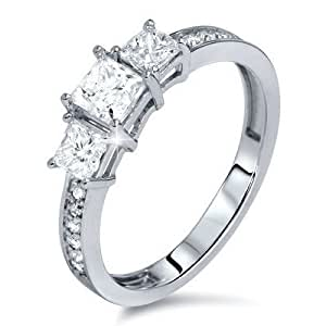 1 25 carat three affordable engagement ring